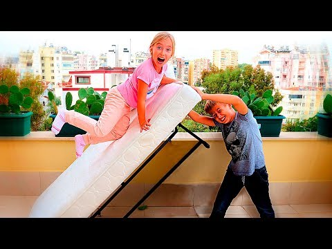 Kids did't Share The BED. Katy CameUp With PRANK. Stories For Kids by Funny Family