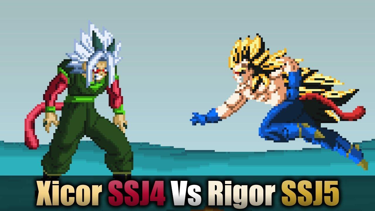 Xicor SSJ4 vs Rigor SS...