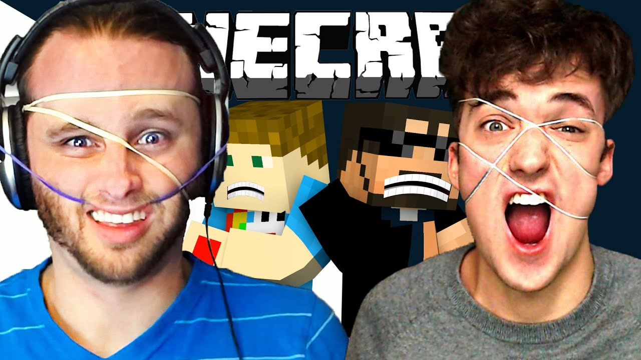Minecraft 15-Seconds | Rubber Band Challenge - YouTube