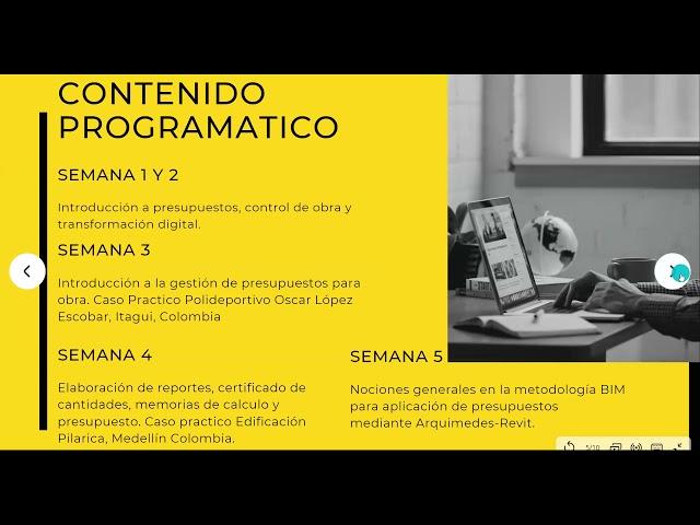 20210507 Presupuestos y control de obras con Arquímedes de CYPE | Ing. Juan Manuel Cuevas