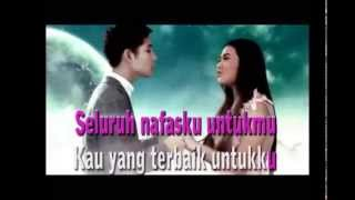 Aurel Ft Rasya Cinta Surga - tugas lirik karaoke - nur alfiana x mm 2