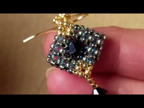 Great Holiday Gifts Projects - Stardust Crystal Earrings Tutorial