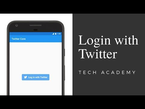 Login With Twitter  |  Android Tutorial