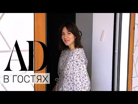 В гостях у дизайнера одежды Ирины Логвиновой: белоснежный дом в Подмосковье