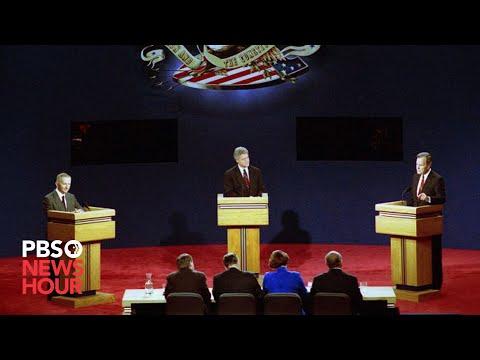 Bush, Clinton, Perot: The first 1992 presidential debate