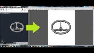 Exportar De 3d A PDF---- Autocad 2013----