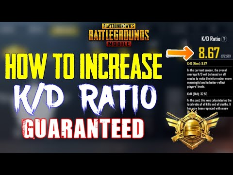 How to Increase your Kd Ratio | Pubg Mobile | New KD Ratio