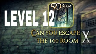 Can You Escape The 100 room X level 12 Walkthrough