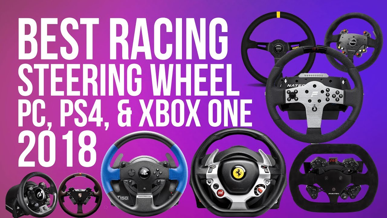 79e6cf63080 BEST RACING WHEEL (2018) FOR PC, PS4 & XBOX ONE | TOP RACING WHEELS 2018