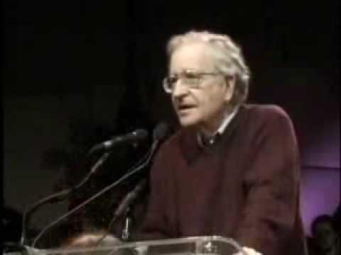 Noam Chomsky 'preemptive war'