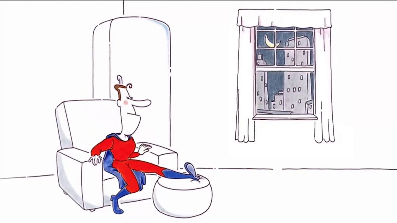 Red Bull: Cartoon - Superheld