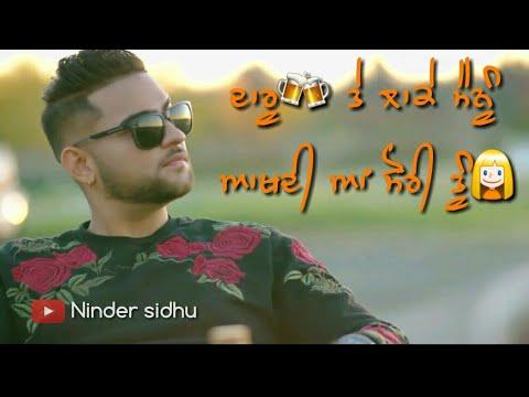 Alcohol 2 Karan Aujla,Paul G Punjabi Whatsapp Status And Lyrics Video + Download Link 👇