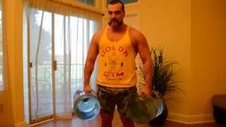 10. Тренинг дома :) Тренируем ТРАПЕЦИИ - Тренировка в домашних условиях