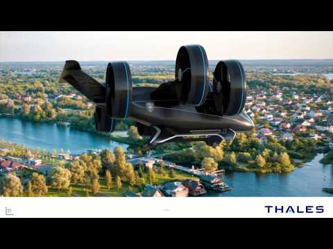 Flying drone-taxi : the new dimension of mobility