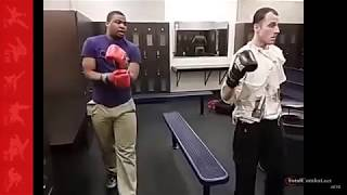 "Light Sparring Becomes Aggressive Sparring|Zelenoff  ""Beat the hell out of you""  Video"