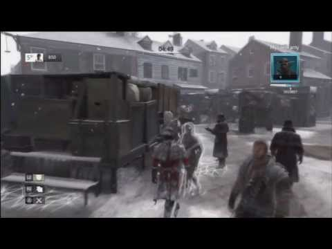 Assassin's Creed III - Wanted & Deathmatch Multiplayer #4 (PS3)