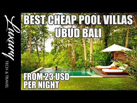 Best Cheap Pool Villas UBUD BALI