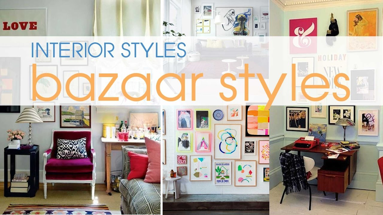 40+ Bazaar Style -Bazaar Home Decor design ideas - YouTube
