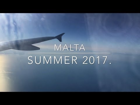 Malta Travel Vlog Summer 2017