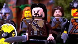 [Bande-annonce] LEGO Nibelungen Brunhilde la Valkyrie (Redbrickstudio)