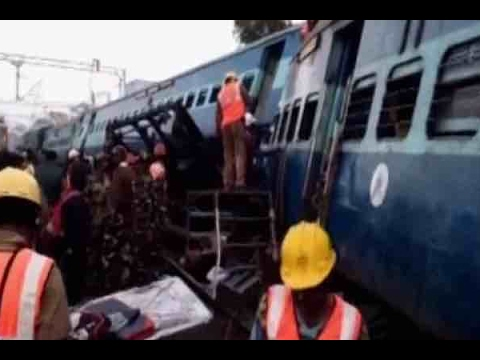 8 coaches of Jagdalpur -Bhubaneswar Hirakhand express train derail near Rayagada