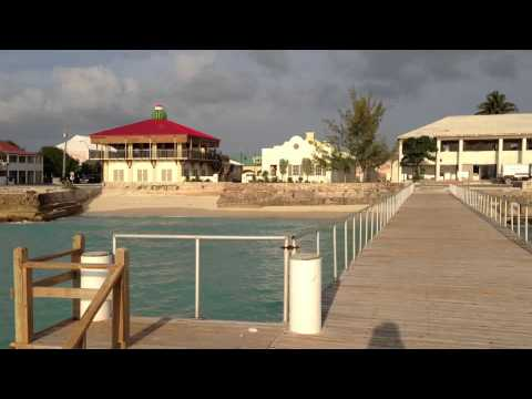 Grand Turk Front Street from the Sea