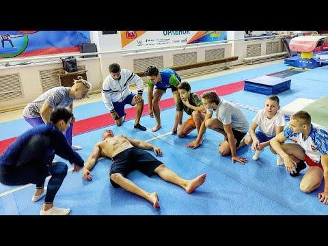 УНИЧТОЖЕНИЕ ТРЕНЕРА. День мести гимнастов: ушатали по полной!