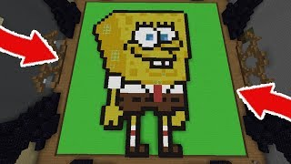 ONLY PIXEL ART CHALLENGE! (Minecraft Build Battle)