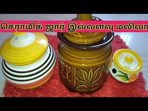 new-collection-ceramic-jar-@trichy-|-my-first-ceramic-collection-||-ceramic-collection-today-special