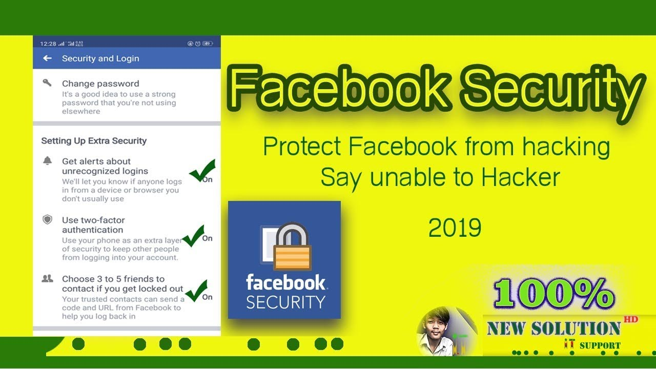 Download How to Setting Extra Security on facebook Protect From Hacking   P centreTechnique Official