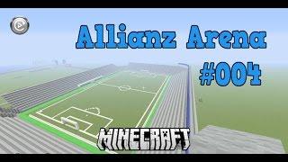 Minecraft Wir bauen die Allianz Arena #004*[HD] Kurve und weitere Tribünen