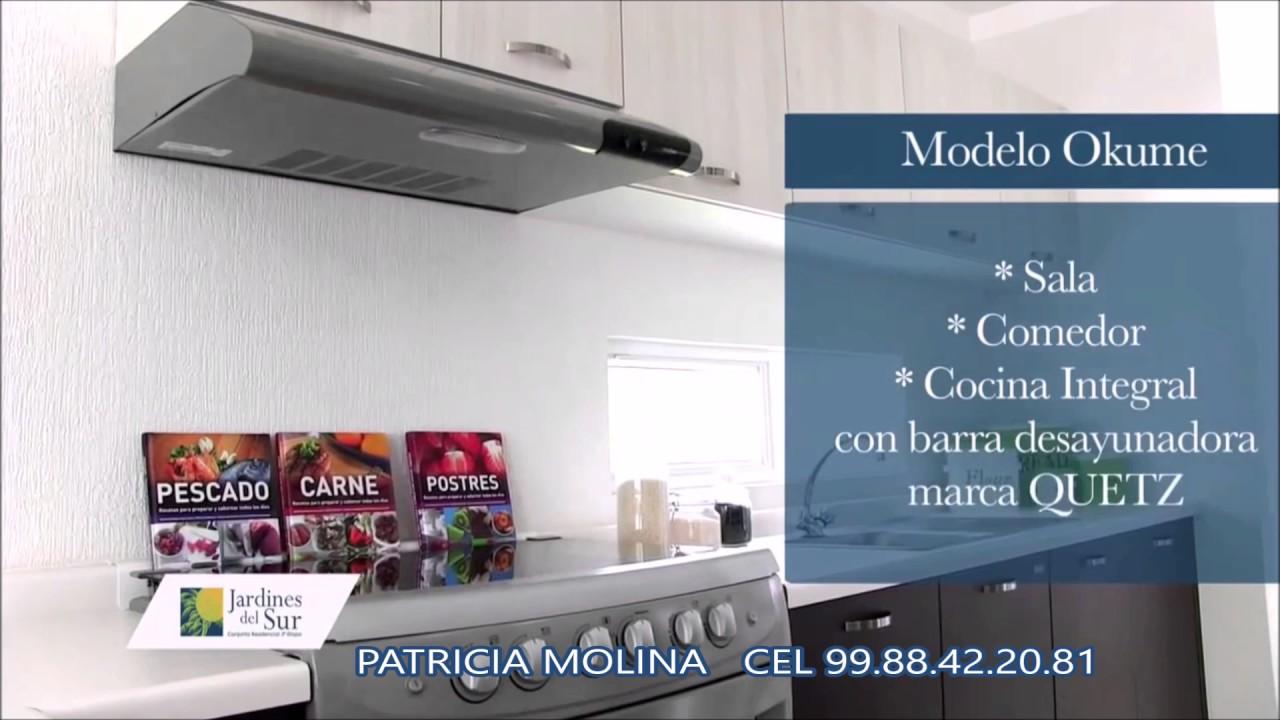MODELO OKUME JARDINES DEL SUR ETAPA 4, CANCUN, QROO. - YouTube