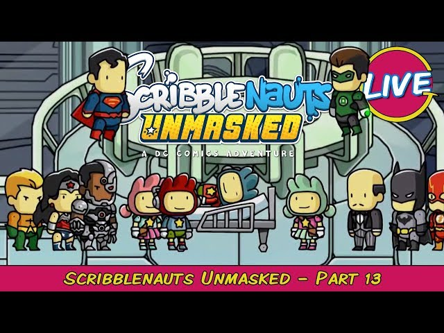 The End! Scribblenauts Unmasked Pt. 13 - Grawlix Plays LIVE