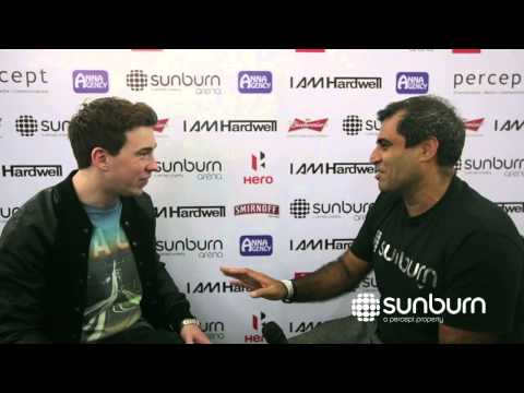 Interview with Hardwell - Sunburn Arena Bangalore
