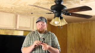 How to Balance Ceiling Fan Paddles : Ceiling Fan Repair