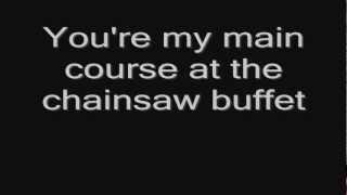 Lordi - The Chainsaw Buffet (lyrics) HD