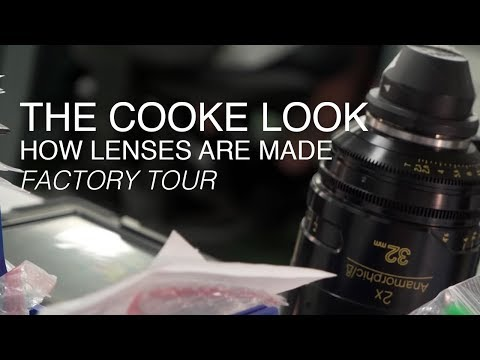 The Cooke Look | Cooke Optics Factory Tour