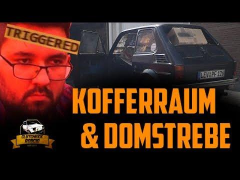TRIAL AND ERROR | Kofferraum und Domstrebe | Fiat 126