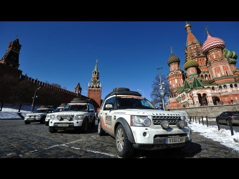 Land Rover Discovery Rumbles Through Russia - Epic Drives Episode 4