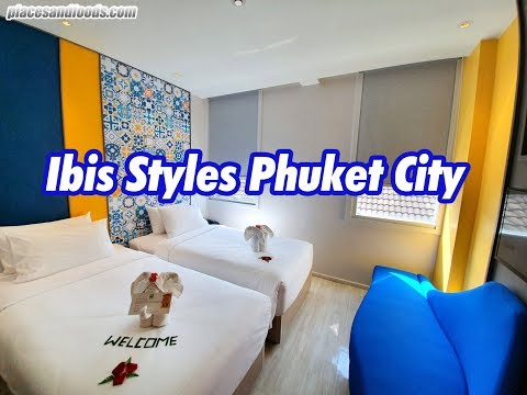 Ibis Sytles Hotel  Phuket City Thailand Room Review