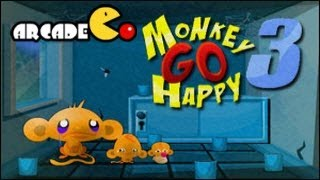 Monkey Go Happy 3 Walkthrough All Levels