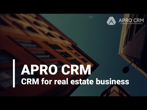 APRO CRM for real estate business
