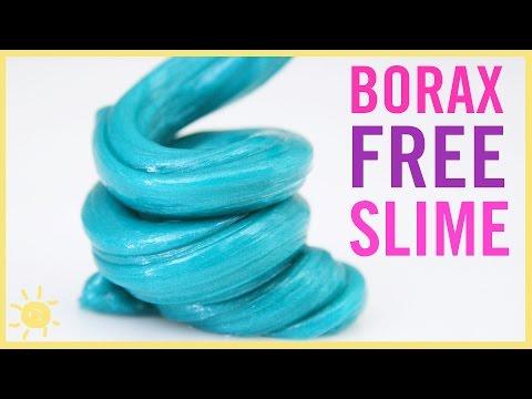 BEST Kid Friendly Slime! (NO Borax)