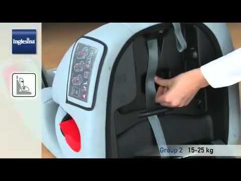 Inglesina Prime Miglia (группа 1-2-3) видео-инструкция