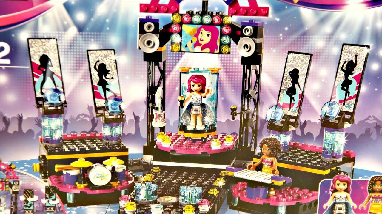 Pop Star Show Stage Scena Gwiazdy Pop Lego Friends 41105