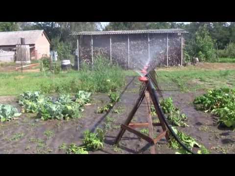 видео: Самодельная поливалка