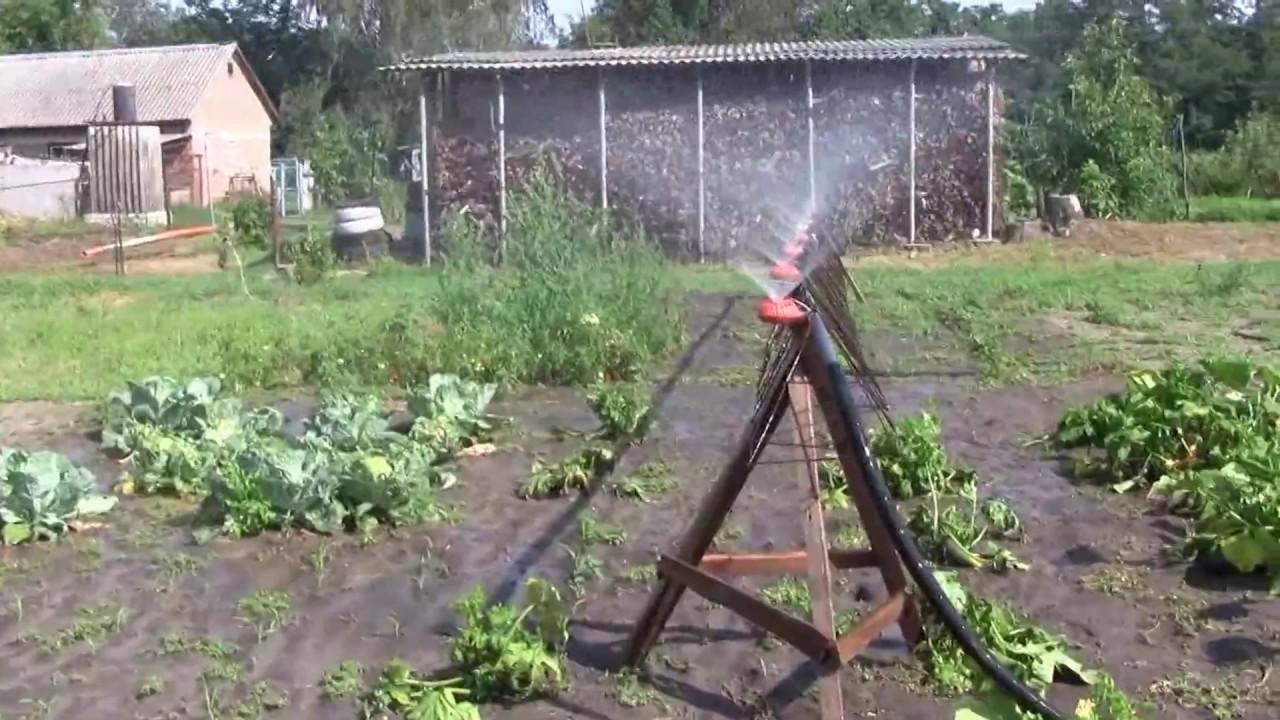 Как сделать поливалку для огорода своими руками фото 487