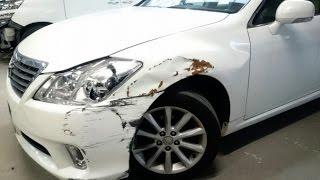 トヨタ クラウン 鈑金・塗装工程 thumbnail