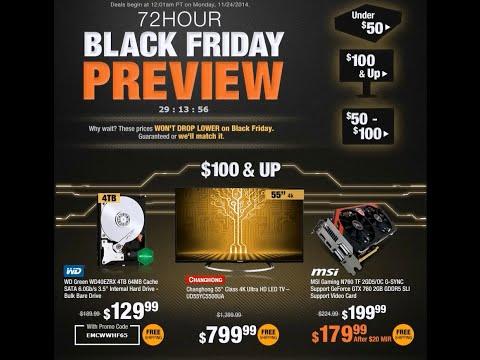 2014 Black Friday Newegg Sales