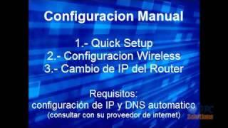 Configuración TPLINK 340G